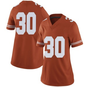 Mason Ramirez Nike Texas Longhorns Women's Limited Women Football College Jersey - Orange