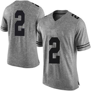 Matt Coleman III Nike Texas Longhorns Men's Limited Mens Football College Jersey - Gray
