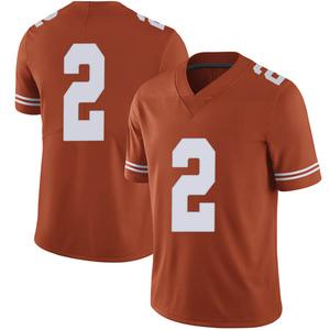 Matt Coleman III Nike Texas Longhorns Men's Limited Mens Football College Jersey - Orange