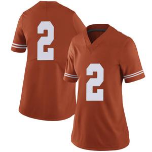 Matt Coleman III Nike Texas Longhorns Women's Limited Women Football College Jersey - Orange