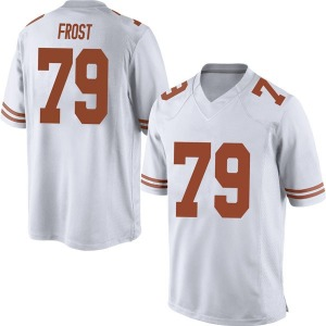 Matt Frost Nike Texas Longhorns Men's Replica Mens Football College Jersey - White