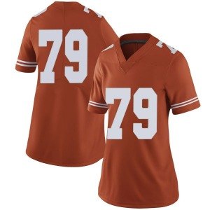 Matt Frost Nike Texas Longhorns Women's Limited Women Football College Jersey - Orange