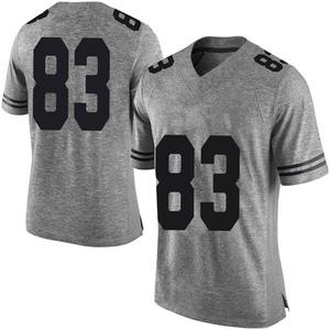 Michael David Poujol Nike Texas Longhorns Men's Limited Mens Football College Jersey - Gray