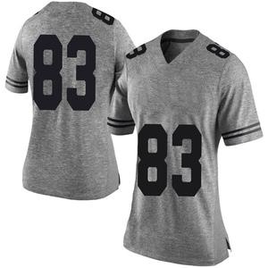 Michael David Poujol Nike Texas Longhorns Women's Limited Women Football College Jersey - Gray