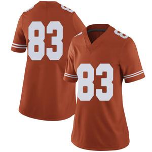 Michael David Poujol Nike Texas Longhorns Women's Limited Women Football College Jersey - Orange