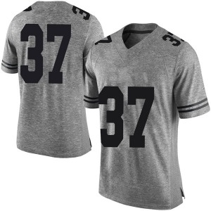Michael Williams Nike Texas Longhorns Men's Limited Mens Football College Jersey - Gray