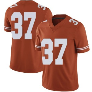 Michael Williams Nike Texas Longhorns Men's Limited Mens Football College Jersey - Orange