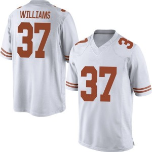 Michael Williams Nike Texas Longhorns Men's Replica Mens Football College Jersey - White