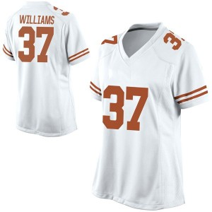 Michael Williams Nike Texas Longhorns Women's Game Football College Jersey - White