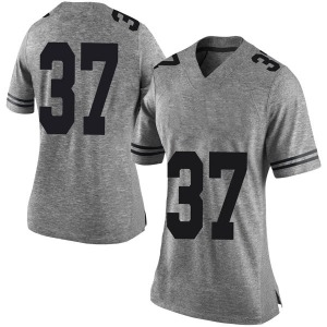 Michael Williams Nike Texas Longhorns Women's Limited Women Football College Jersey - Gray
