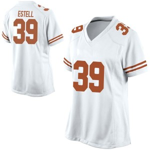 Montrell Estell Nike Texas Longhorns Women's Replica Football College Jersey - White