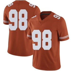 Moro Ojomo Nike Texas Longhorns Men's Limited Mens Football College Jersey - Orange