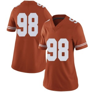 Moro Ojomo Nike Texas Longhorns Women's Limited Women Football College Jersey - Orange