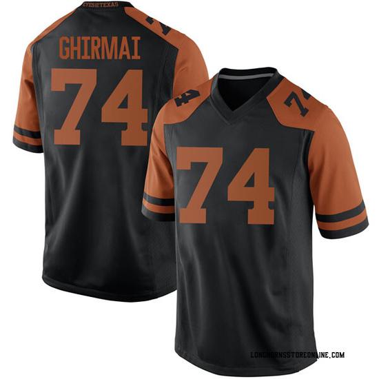 Rafiti Ghirmai Nike Texas Longhorns Men's Game Mens Football College Jersey - Black