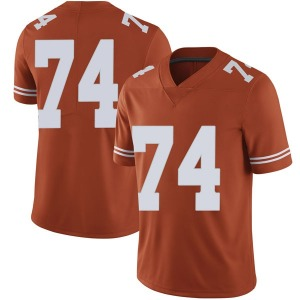 Rafiti Ghirmai Nike Texas Longhorns Men's Limited Mens Football College Jersey - Orange