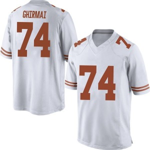 Rafiti Ghirmai Nike Texas Longhorns Men's Replica Mens Football College Jersey - White