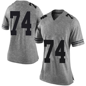 Rafiti Ghirmai Nike Texas Longhorns Women's Limited Women Football College Jersey - Gray