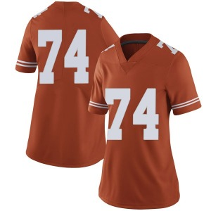Rafiti Ghirmai Nike Texas Longhorns Women's Limited Women Football College Jersey - Orange