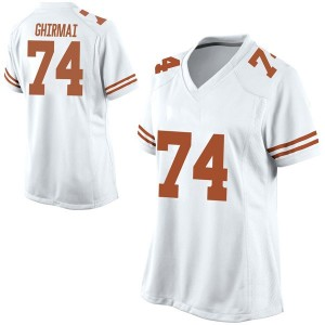 Rafiti Ghirmai Nike Texas Longhorns Women's Replica Football College Jersey - White