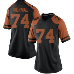 Rafiti Ghirmai Nike Texas Longhorns Women's Replica Women Football College Jersey - Black