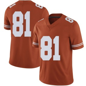 Reese Leitao Nike Texas Longhorns Men's Limited Mens Football College Jersey - Orange