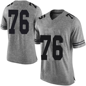 Reese Moore Nike Texas Longhorns Men's Limited Mens Football College Jersey - Gray