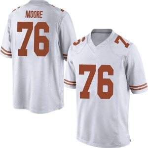 Reese Moore Nike Texas Longhorns Men's Replica Mens Football College Jersey - White