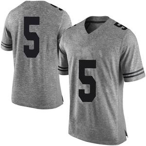 Royce Hamm Jr. Nike Texas Longhorns Men's Limited Mens Football College Jersey - Gray