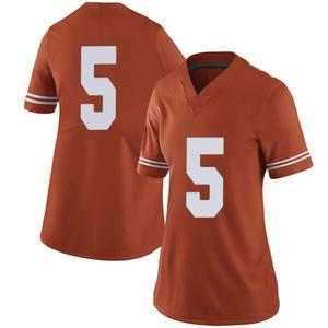Royce Hamm Jr. Nike Texas Longhorns Women's Limited Women Football College Jersey - Orange