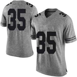 Russell Hine Nike Texas Longhorns Men's Limited Mens Football College Jersey - Gray