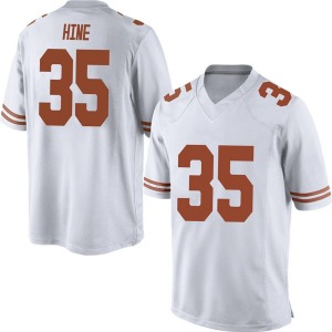 Russell Hine Nike Texas Longhorns Men's Replica Mens Football College Jersey - White