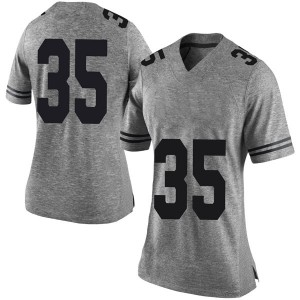 Russell Hine Nike Texas Longhorns Women's Limited Women Football College Jersey - Gray