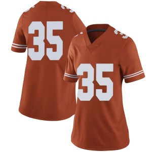 Russell Hine Nike Texas Longhorns Women's Limited Women Football College Jersey - Orange