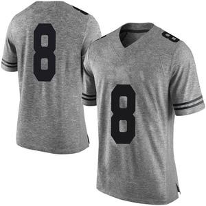 Ryan Bujcevski Nike Texas Longhorns Men's Limited Mens Football College Jersey - Gray