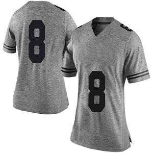 Ryan Bujcevski Nike Texas Longhorns Women's Limited Women Football College Jersey - Gray