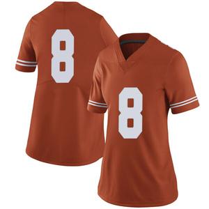 Ryan Bujcevski Nike Texas Longhorns Women's Limited Women Football College Jersey - Orange