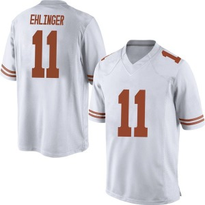 Sam Ehlinger Nike Texas Longhorns Men's Game Mens Football College Jersey - White
