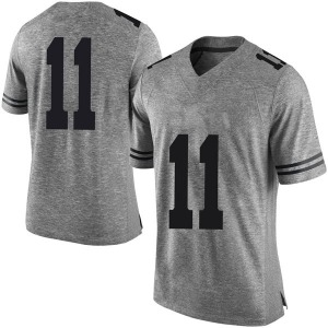 Sam Ehlinger Nike Texas Longhorns Men's Limited Mens Football College Jersey - Gray