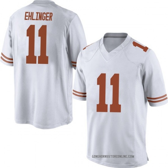 Sam Ehlinger Nike Texas Longhorns Men's Replica Mens Football College Jersey - White