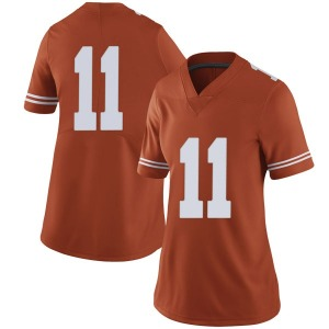Sam Ehlinger Nike Texas Longhorns Women's Limited Women Football College Jersey - Orange