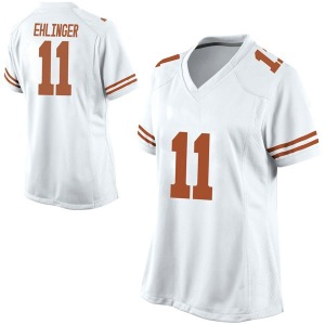 Sam Ehlinger Nike Texas Longhorns Women's Replica Football College Jersey - White