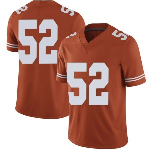 Samuel Cosmi Nike Texas Longhorns Men's Limited Mens Football College Jersey - Orange