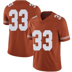 Tim Yoder Nike Texas Longhorns Men's Limited Mens Football College Jersey - Orange