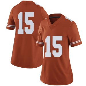 Travis West Nike Texas Longhorns Women's Limited Women Football College Jersey - Orange