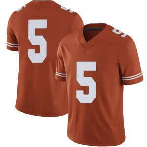 Tre Watson Nike Texas Longhorns Men's Limited Mens Football College Jersey - Orange
