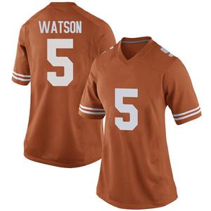 Tre Watson Nike Texas Longhorns Women's Replica Women Football College Jersey - Orange
