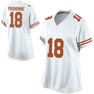 Tremayne Prudhomme Nike Texas Longhorns Women's Game Football College Jersey - White