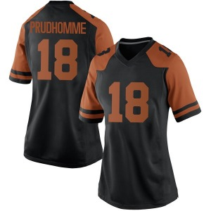 Tremayne Prudhomme Nike Texas Longhorns Women's Game Women Football College Jersey - Black