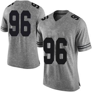 Tristan Bennett Nike Texas Longhorns Men's Limited Mens Football College Jersey - Gray