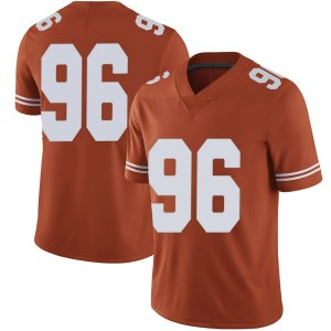 Tristan Bennett Nike Texas Longhorns Men's Limited Mens Football College Jersey - Orange